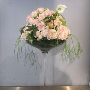 Tischschmuck für die Hochzeit - Blumengalerie Knorr - Ihr Blumenladen ...