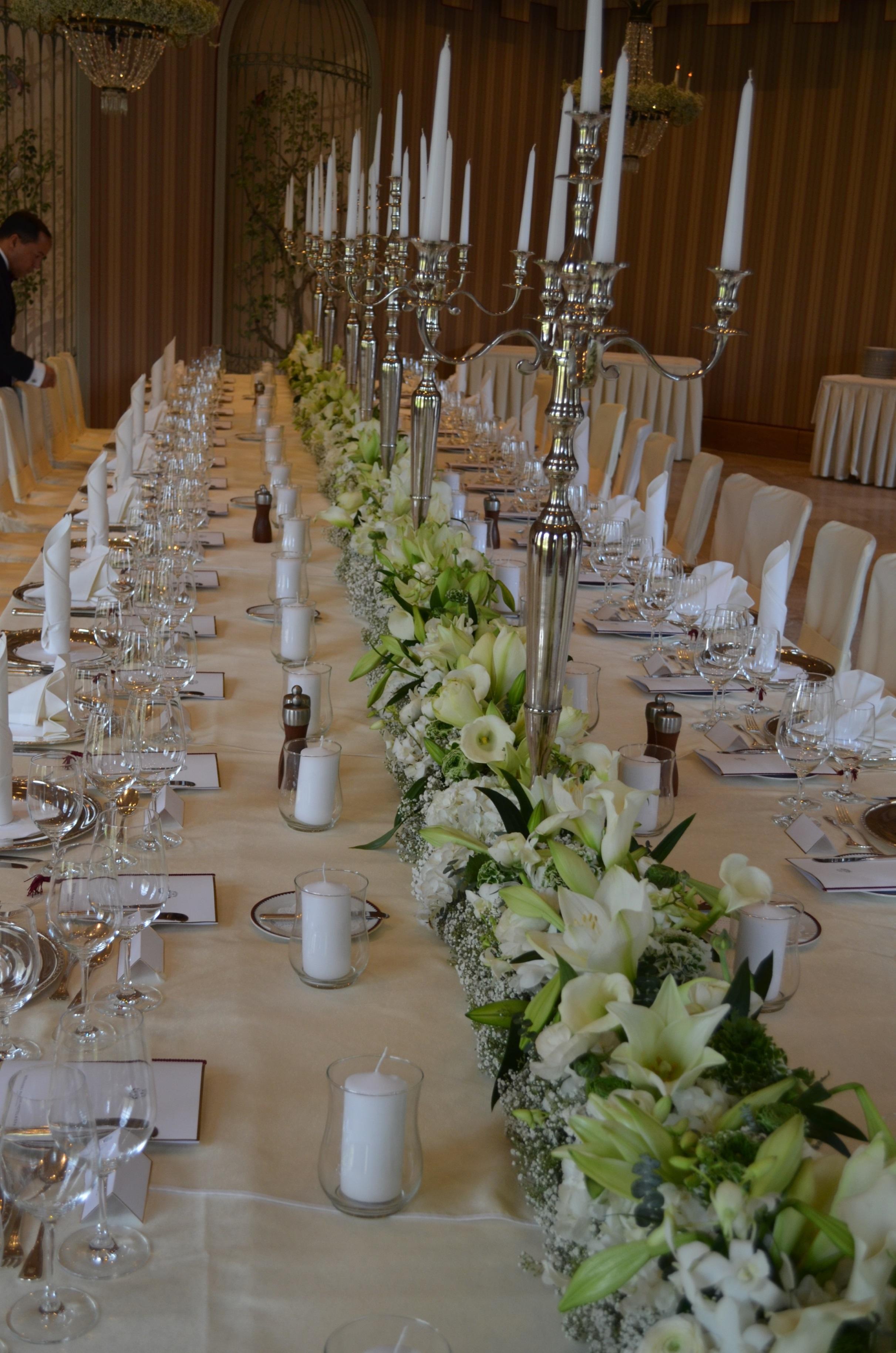 Tischschmuck Fur Die Hochzeit Blumengalerie Knorr Baden Baden