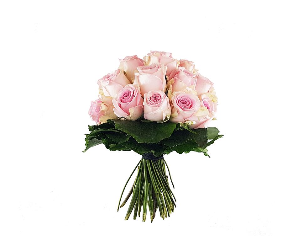 Biedermeierstrauß Aus Rosa Rosen Jetzt Bestellen Und Liefern Lassen
