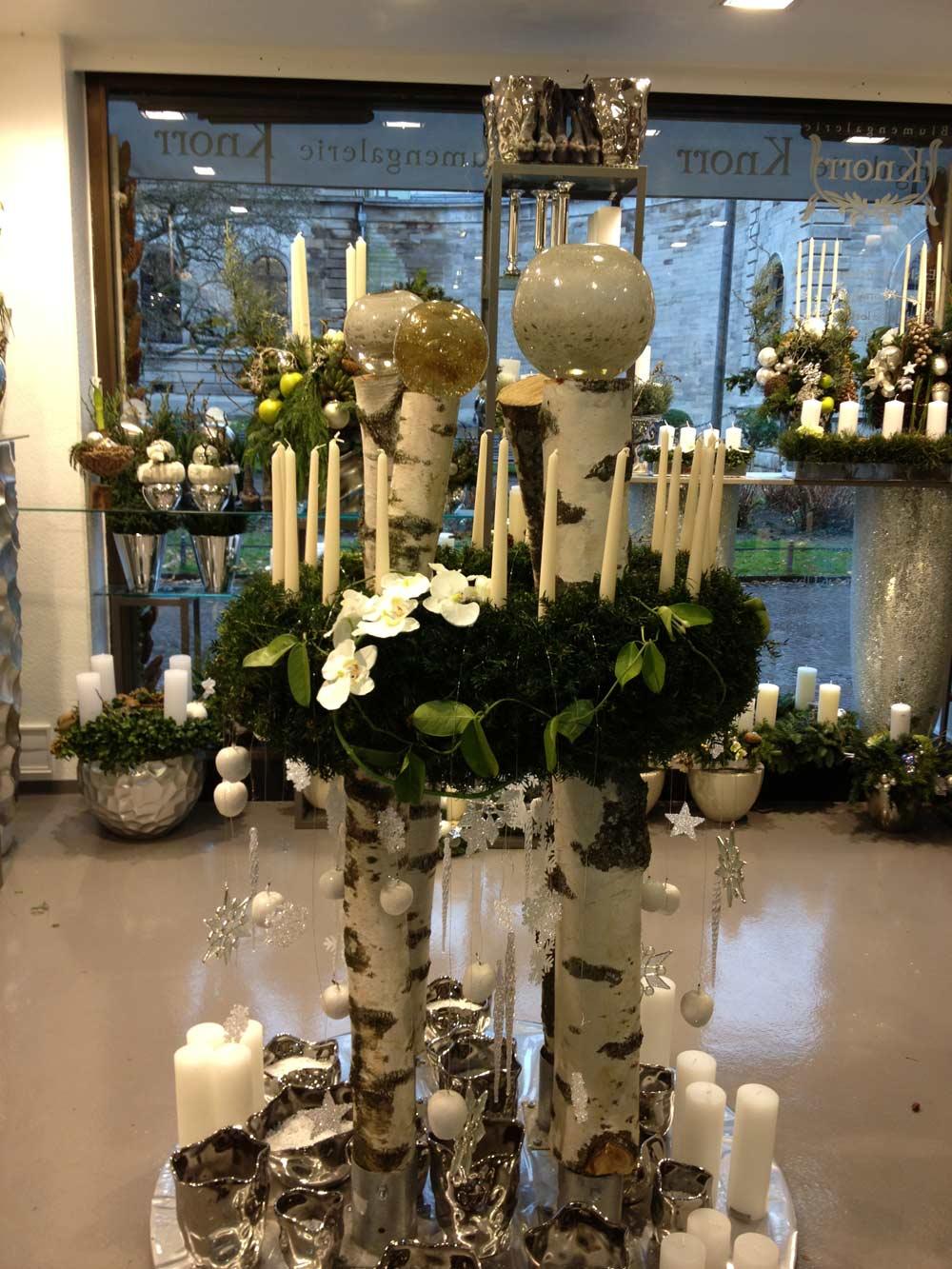 Events und ausstellungen blumengalerie knorr for Weihnachtstrends 2016 floristik